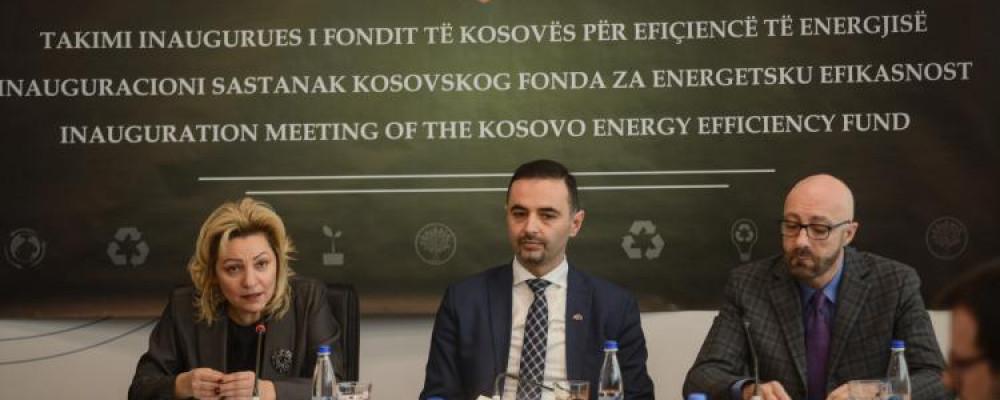 Kosova Lanson Fondin për Efiçiencë të Energjisë